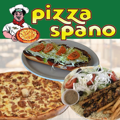 Picture of Spano Pizza - $25 Certificate