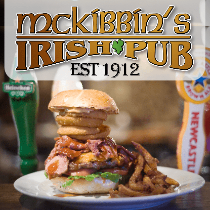 Picture of McKibbin's Irish Pub - $25 Certificate